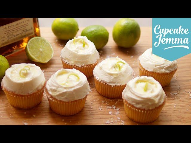 Margarita cupcake recipe   Cupcake Jemma
