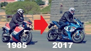 Suzuki GSX-R History (1985 - 2017) | Evolution of a SuperBike | Full Documentary