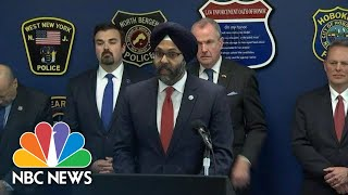 Officials Give Timeline Of Jersey City Shooting | NBC News