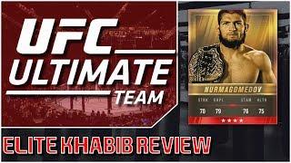 EA SPORTS UFC 3 - Ultimate Team - Elite Khabib Nurmagomedov Review