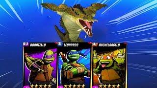 TMNT Legends PVP 902 - Leonardo Nick| Mikey Nick | Donatello Nick | Leatherhead