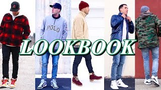 SNEAKERHEAD LOOKBOOK - HOW TO STYLE CASUAL OUTFITS - NIKE - JORDAN - TIMBERLAND - ADIDAS