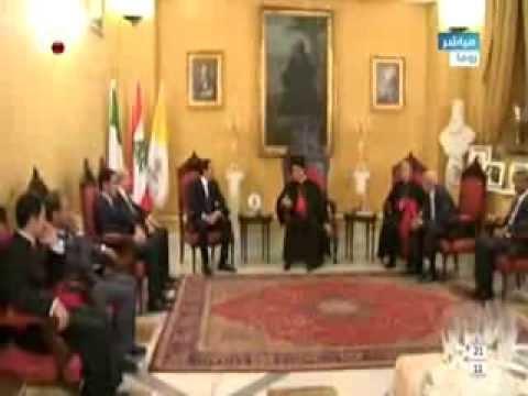 وصول الرئيس الحريري الى مقر البطريرك الراعي في روما للقائه