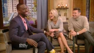 Sterling K. Brown interview Live With Kelly 11/17/2016 co host Ryan Seacrest