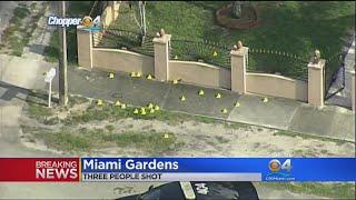 Police Investigate 3 Shot In Miami Gardens