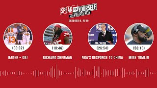 SPEAK FOR YOURSELF Audio Podcast (10.8.19) with Marcellus Wiley, Jason Whitlock | SPEAK FOR YOURSELF