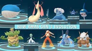 Pokemon Go Best of Gen 3 Evolution Ludicolo, Wailord, Milotic, Gardevoir, Slaking!