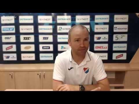 Tisková konference FC Baník Ostrava před utkáním s FC Fastav Zlín