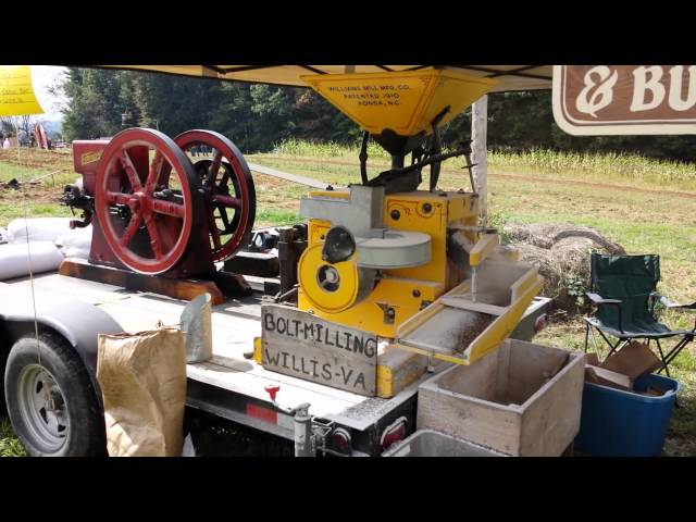 Old Timey Corn Meal Making!