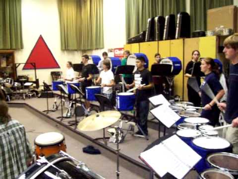Doherty 2007 Winter Drumline Accent Taps Exercise