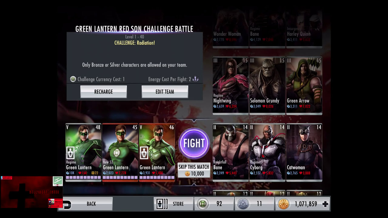 Red Son Green Lantern Challenge Red Son Green Lantern