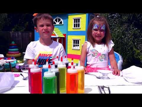 3 цВЕтА тОппИНг и мОрОЖЕНое ЧЕЛлЕНдЖ или 3 colors ice cream topping CHALLENGE