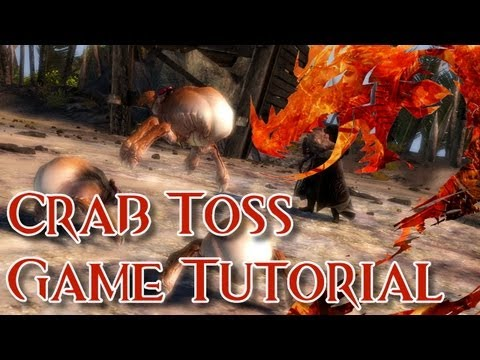 Guild Wars 2 - Crab Toss Game Tutorial!