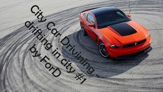 [ City Car Driving 1.4.0 ] drifting BMW M3 E36, BMW M5 E39, Ford Mustang [ drift ] Logitech G27