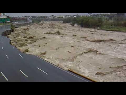 Huracan Alex Rio Santa Catarina Monterrey