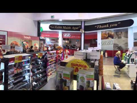 Sam McCauley Chemists-Cameras, printing and beauty products section.