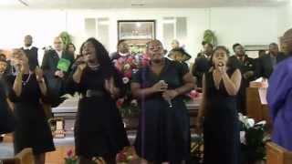 Mount Salem Video - The Miracle Sisters Singing at Myrtice Salem (Mema) Funeral 6/1/13 in Vidalia Georgia