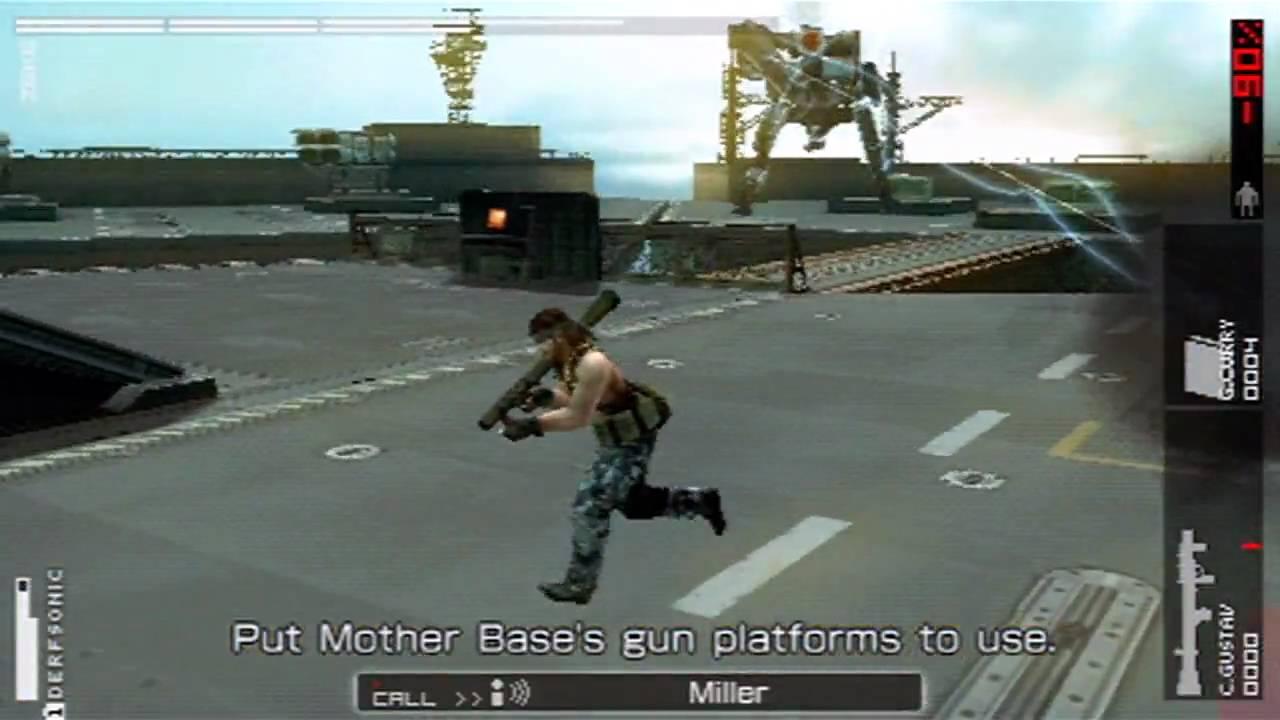 Gear Zeke Metal Gear Zeke Battle