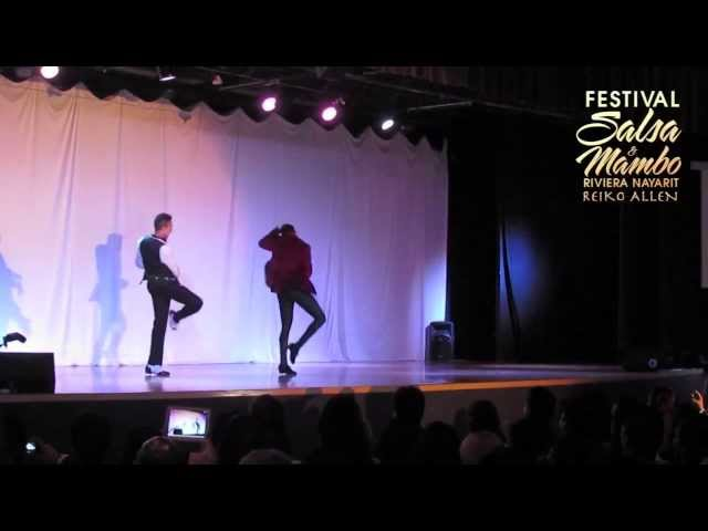 Franklin Diaz & Charlie Garcia - Riviera Nayarit Salsa & Mambo Festival 2013