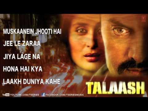 Talaash Full Songs Jukebox  Aamir Khan, Kareena Kapoor, Rani Mukherjee