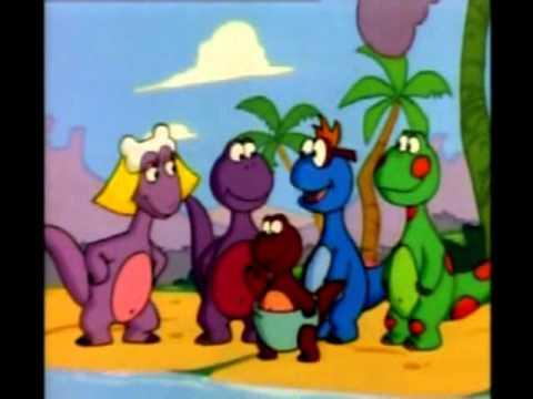 الديناصورات الصغيرة كرتون - الجزيرة المجهولة