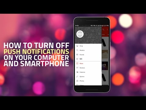 How to Turn Off Push Notifications on Your Computer and Smartphone