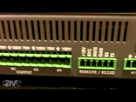 InfoComm 2013: Stewart Audio Shows the FLX80-4 Amplifier