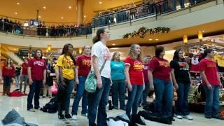 Simpson Cole Hallelujah Chorus Flash Mob