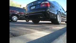 BMW E39 M5 MUFFLER DELETE EXHAUST SOUND