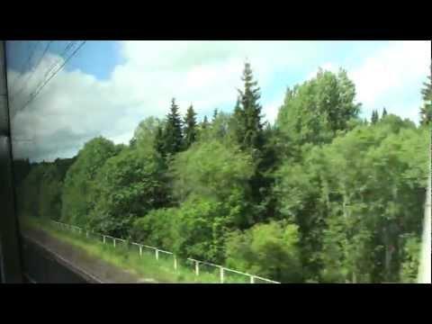 Sapsan - High-Speed Train - Russian Railways - Russia Today