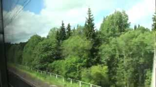 "Sapsan"" - High-Speed Train - Russian Railways - Russia Today"