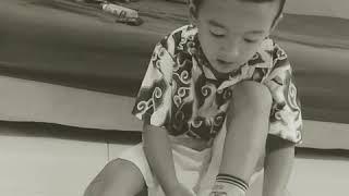 Baby mikail sing a song #mikailsavamukti #belatungnangkaboy #smartboy