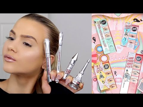 First Impressions   NEW Benefit Brow Collection   Browvo. Ka-BROW. Goof Proof & Gimme Brow