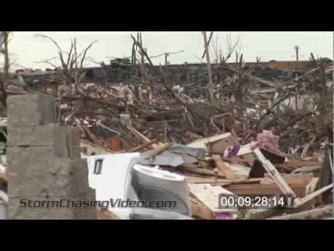 5/22/2011 Joplin, MO Tornado and Damage Aftermath B-Roll