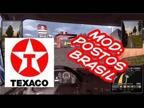 Euro Truck Simulator 2 - MOD Texaco