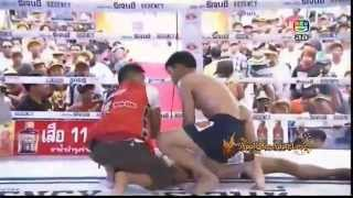 International Muay Kard Chuek Thailand Vs  Myanmar April 15th, 2014-9