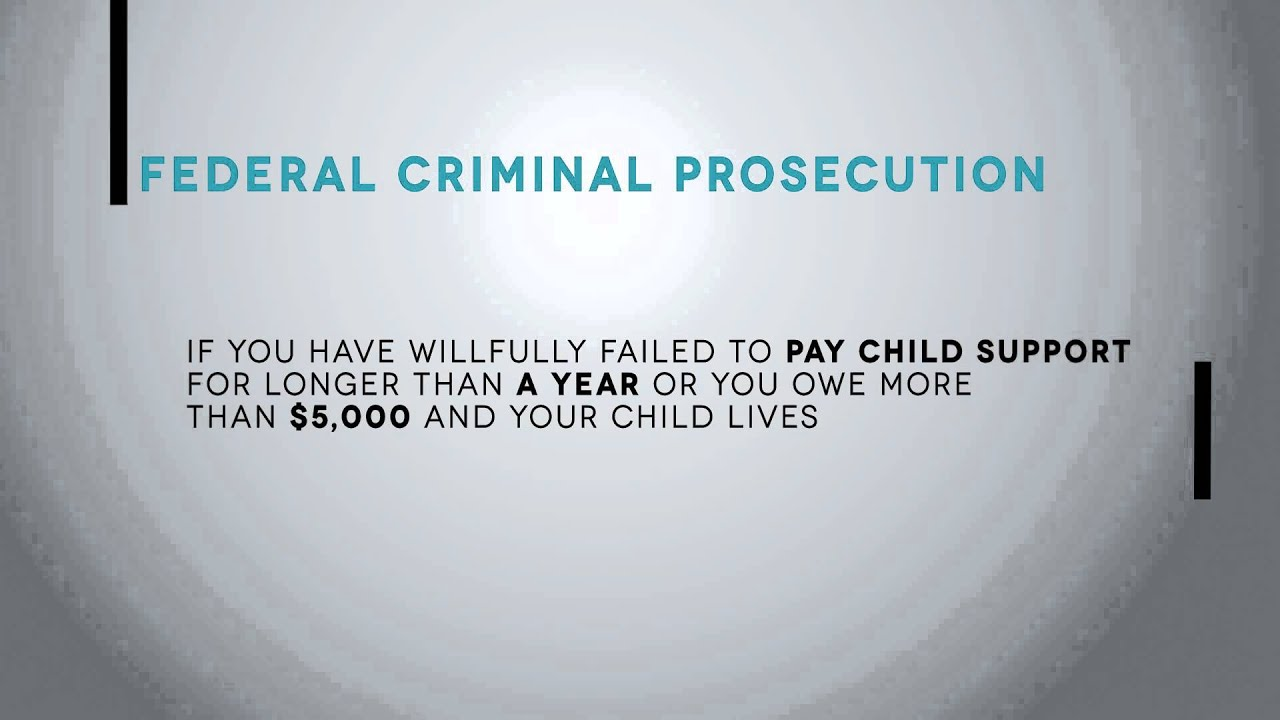 a discussion on paying child support Child support - (formerly part of child custody and visitation.