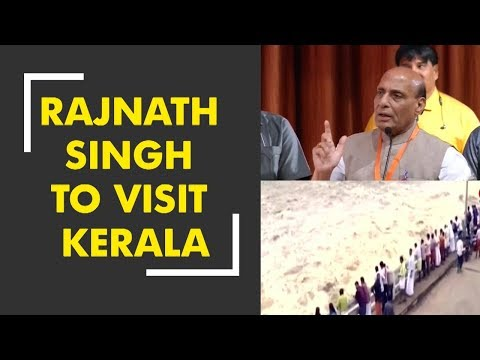 News 100: Home minister Rajnath Singh to visit Kerala and meet flood victims today