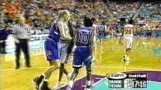 1999 Elite Eight Duke vs  Tennessee