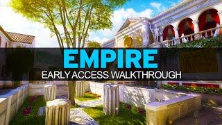 Black Ops 3 - EARLY ACCESS - EMPIRE Complete Map Walkthrough - BO2 Raid Remake (BO3 Descent DLC)