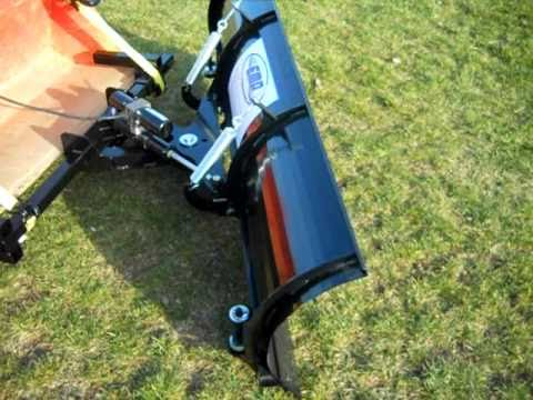 EMP Snow Plow for Compact Tractors www.extrememetalproducts.com