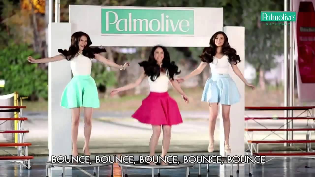 Bounce Bounce Palmolive Palmolive Hair Bounce Dance ft