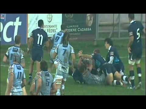 Highlights Parma Zebre v Cardiff Blues 25 11 2012