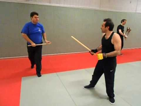 Sifu Gülveren escrima techniques with stick Image 1