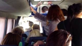 Șofer de microbuz 135 (arhiplin) agresiv și periculos