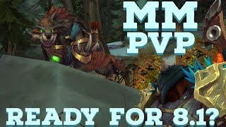 MM Hunter PvP w/ VO ►ARE YOU GETTING READY FOR 8.1◄