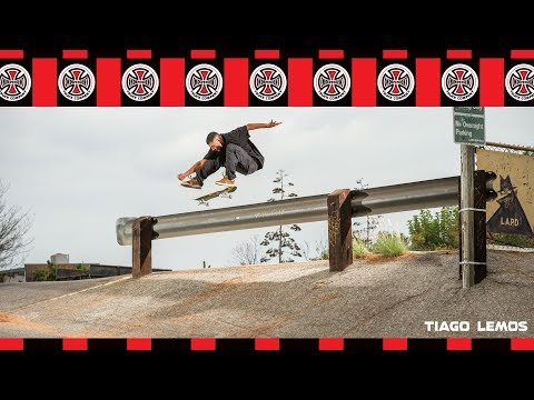"""Tiago Lemos: """"Indy Part""""   Behind The Ad   Independent Trucks"""