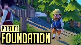 Foundation | CUTE MEDIEVAL CITY BUILDER (#1)