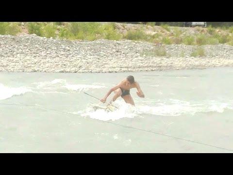 Серфинг на реке