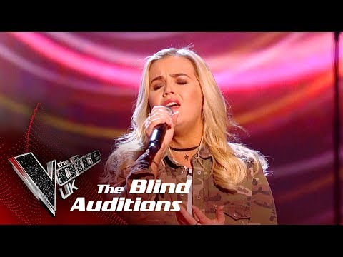 Aimee Fitzpatrick Performs 'Wrecking Ball': Blind Auditions  The Voice UK 2018